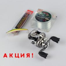 Катушка Daiwa Exceler 100 HL + ПОДАРОК!