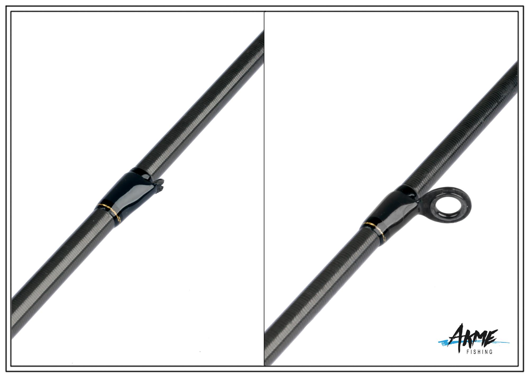 Установка колец AGS на спиннинги Daiwa