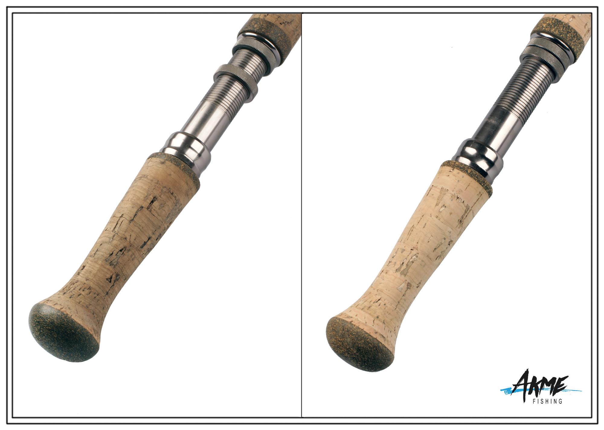 Реставрация пробковой рукояти спиннинг (шпаклевка)